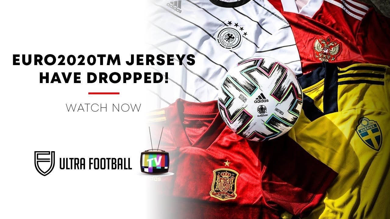 Combining art and football, Adidas releases home football jersey for Euro 2020 series