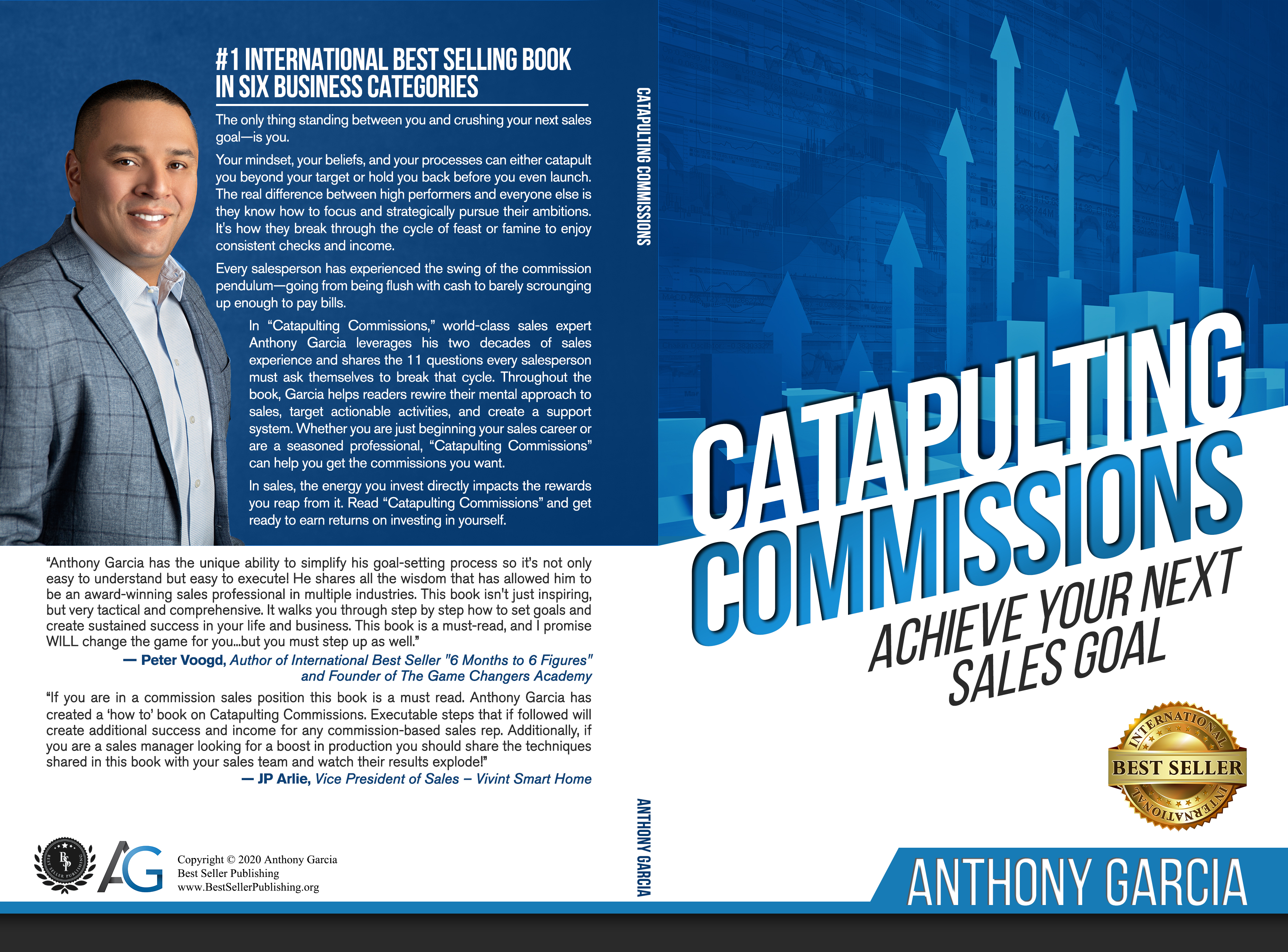 Ranked As International Best-Seller On Amazon, Anthony Garcia\'s New Book Claims Top Position In Over 6 Countries