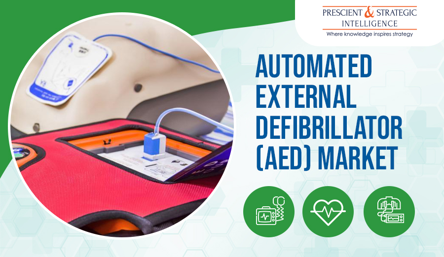 Automated External Defibrillator (AED) Market Growing Due to Rising Geriatric Population and Cardiac Disease Prevalence