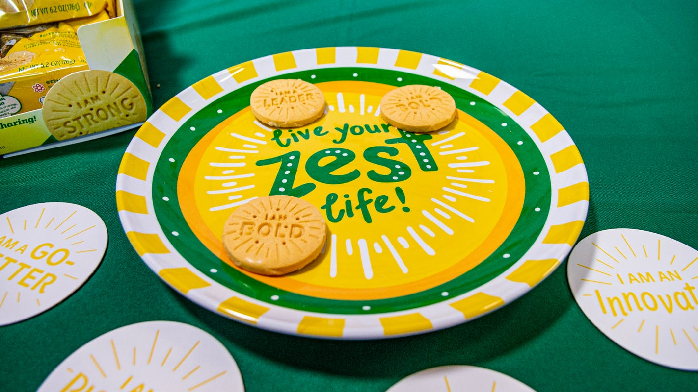 Selfpause Offers Unlimited Positive Affirmations Girl Scouts Cookies to All Employees