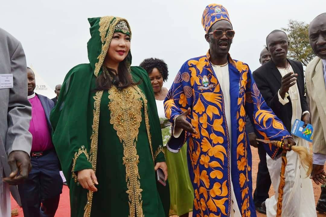 Kingdom of Buruli Held Royal Event in Honor of We Care for Humanity Founder Sultana Maria