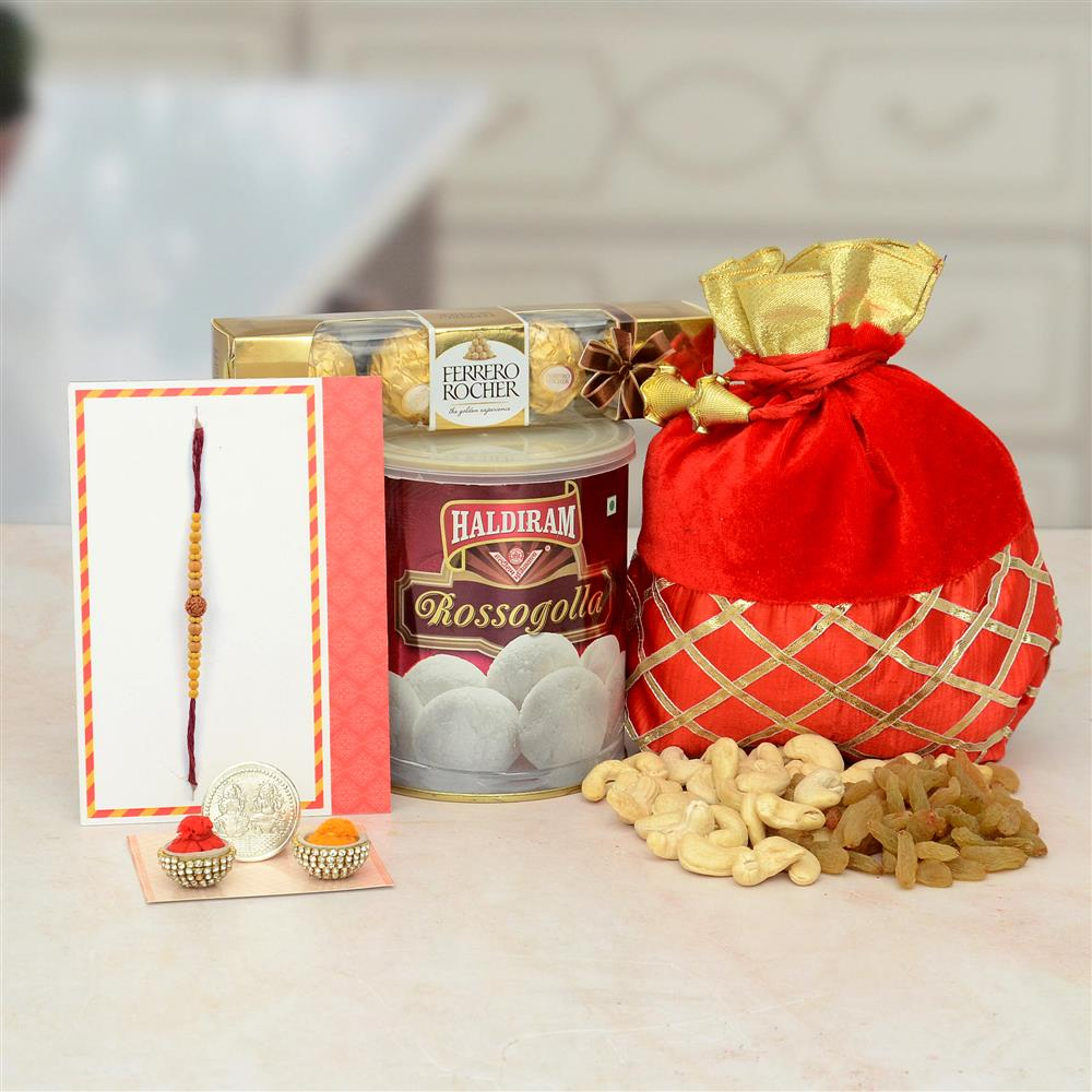 Cherish the brother-sister bond, choose from an array of Rakhis and Gift options for Rakshabandhan from GiftstoIndia24x7.com