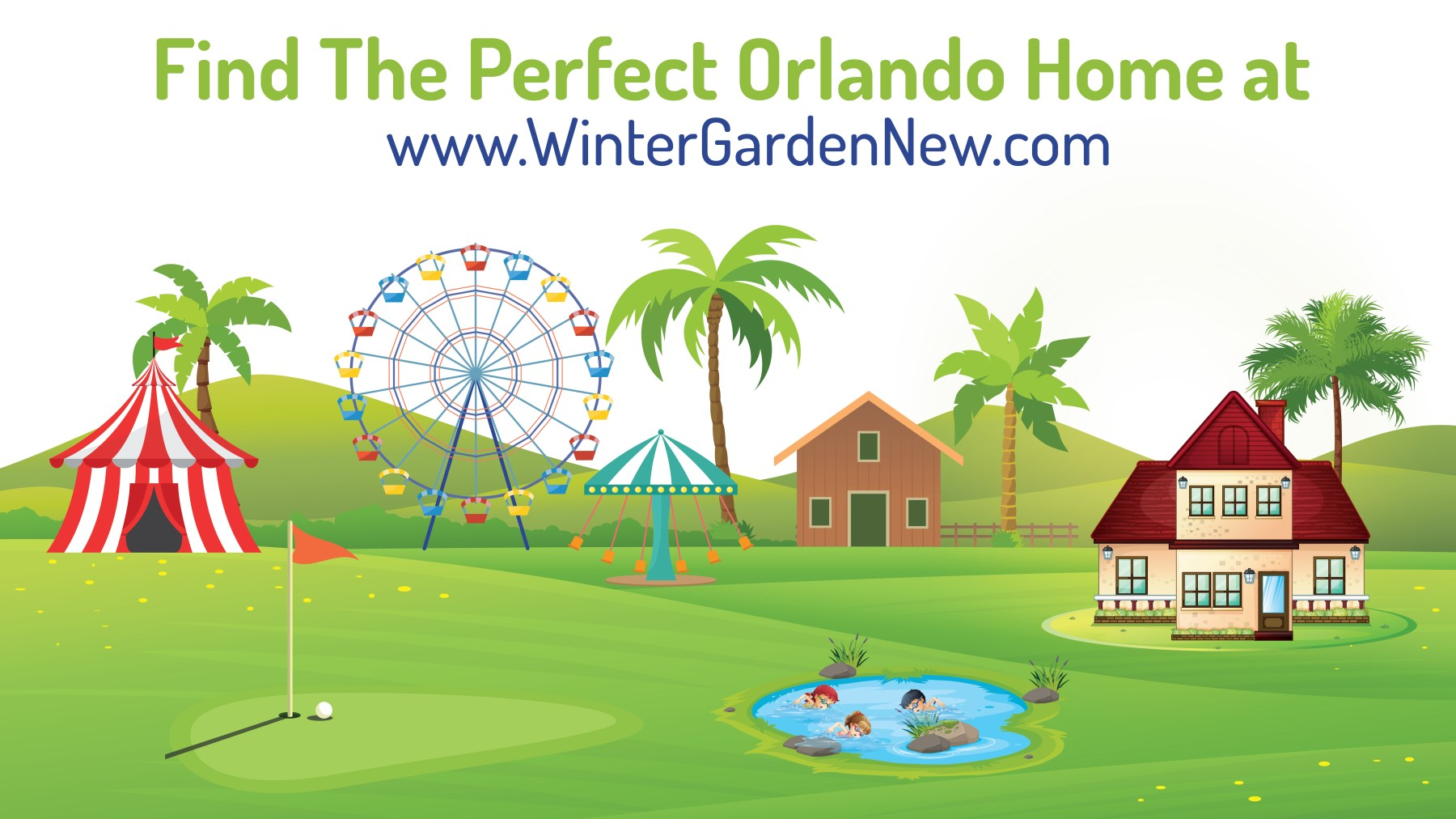 Rich Noto Realtor Offers Finest Vacation Homes and New Investment Properties in Orlando, Winter Garden, Windermere and More