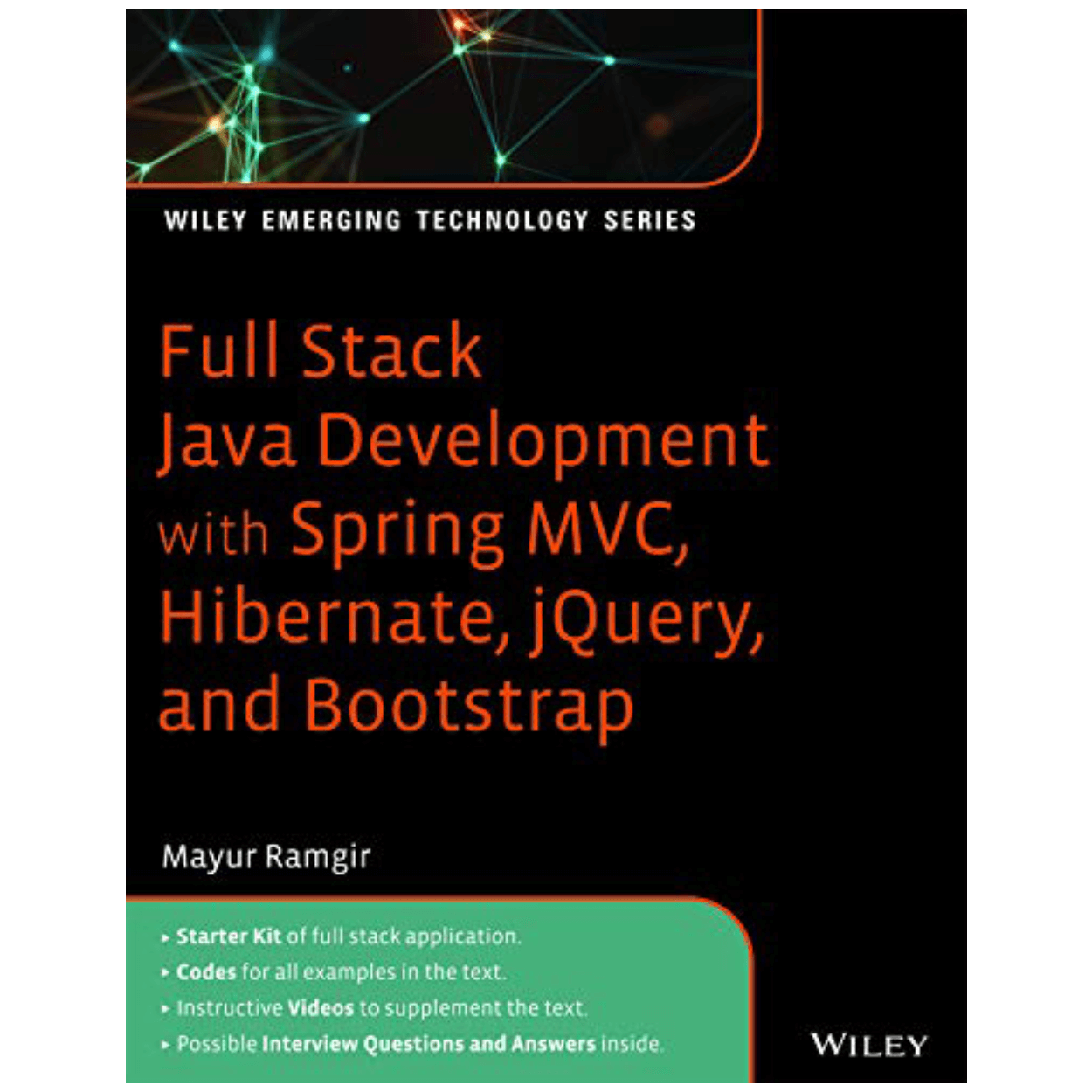 Wiley Published Mayur Ramgir's New Book on Full Stack Java Development