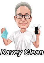 Introducing the Davey Cloth, the Most Effective Way to Clean Germs from a Cell Phone