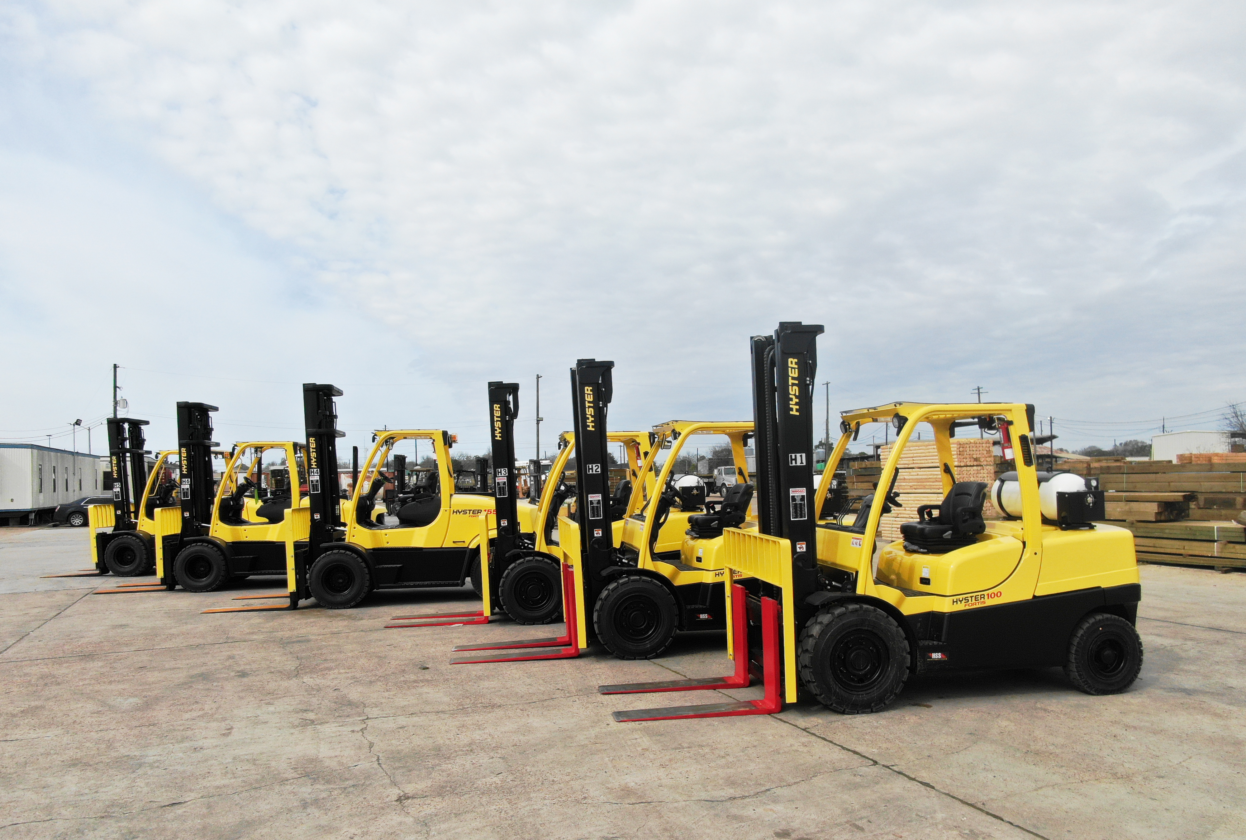 Building Products Plus Swaps Diesel Forklifts for Cleaner Natural Gas Forklifts