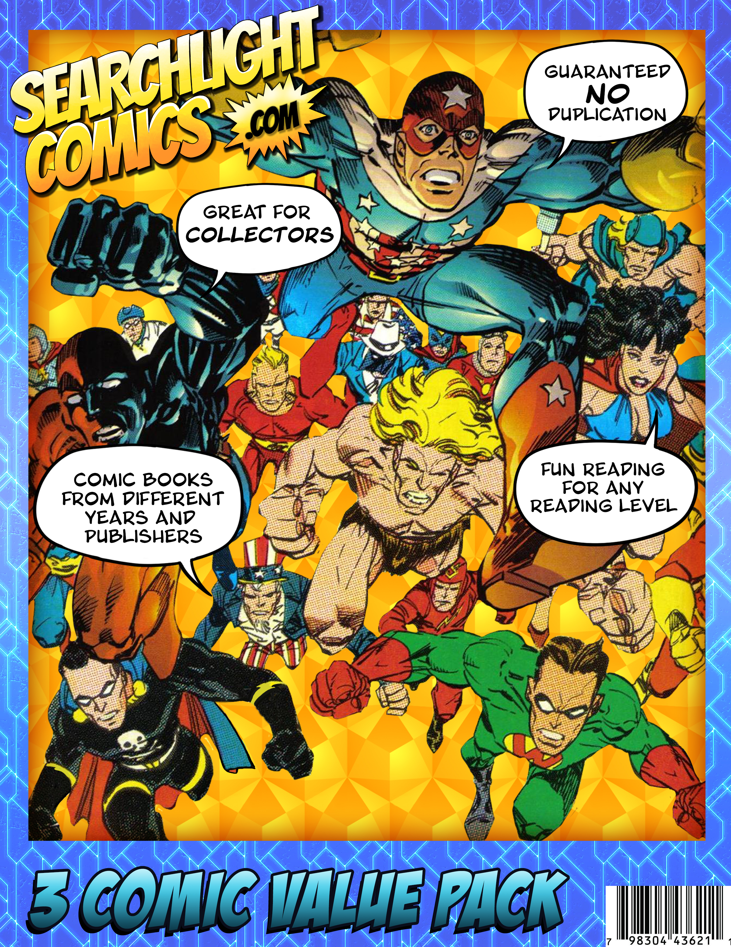 Searchlight Comics is now offered Nationwide Through Mr. Checkout\'s Direct Store Delivery Distributors.
