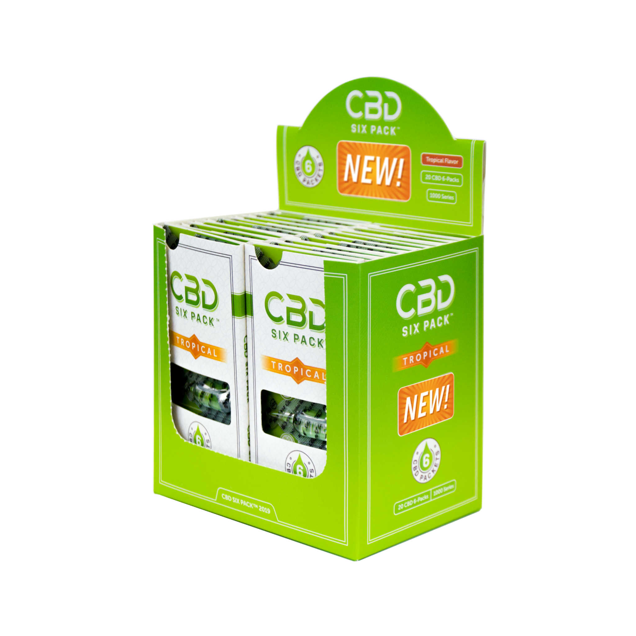 CBD Six Pack is now offered Nationwide Through Mr. Checkout\'s Direct Store Delivery Distributors.