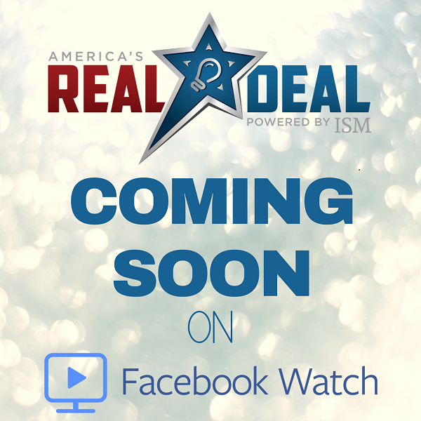 America's Real Deal Airing On Facebook Watch