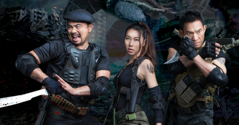 Vincent Soberano's Filipino Action Flick 'BLOOD HUNTERS: RISE OF THE HYBRIDS' Receives Digital Release March 17
