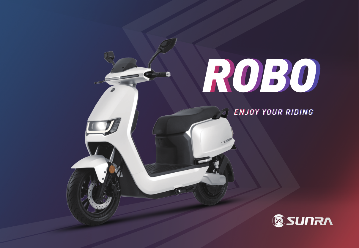Feel Everything, Experience SUNRA High Speed Electric Scooter ROBO