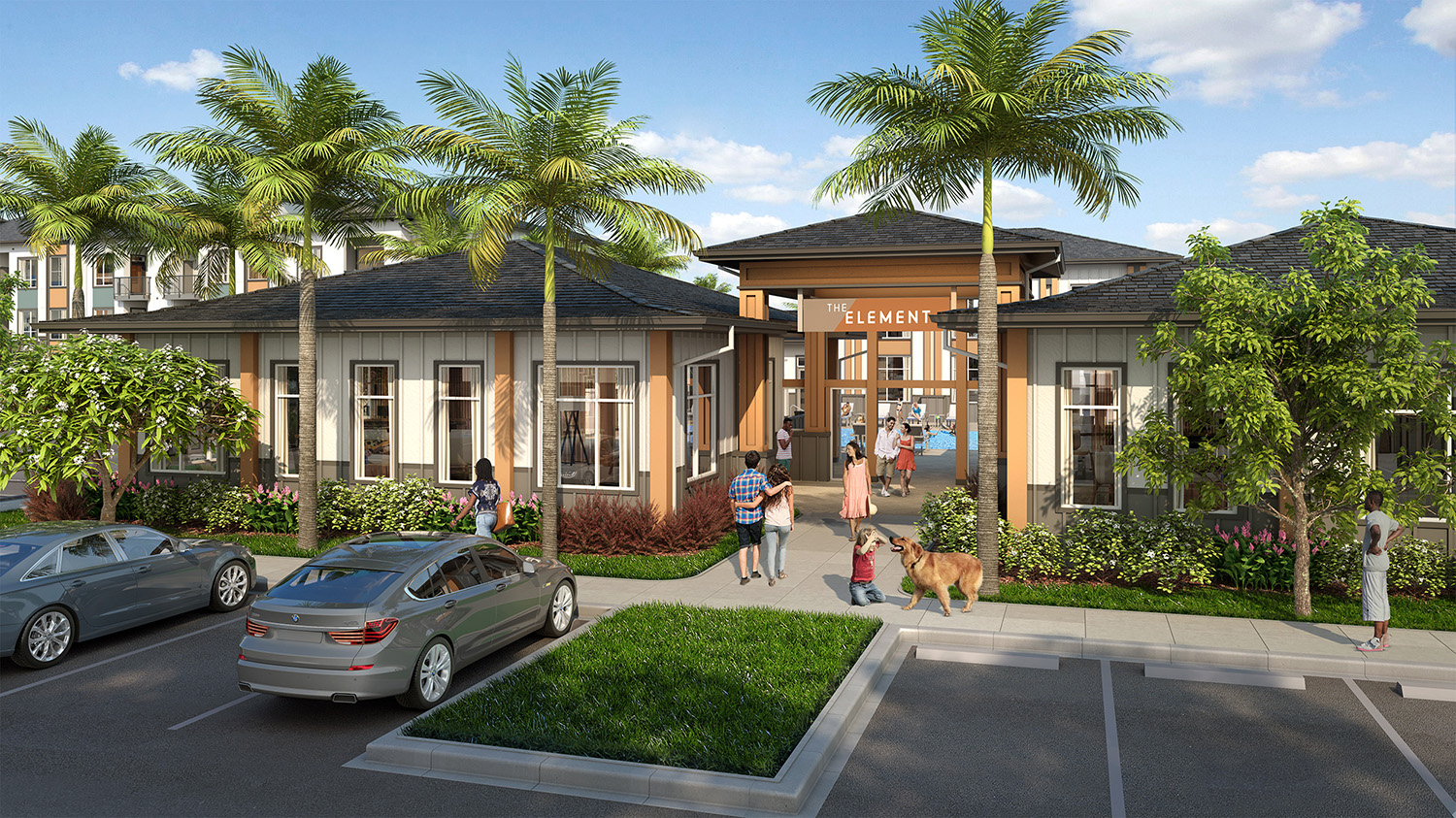 KTGY-Designed Sustainable TOD 318-Unit Apartment Community Breaks Ground in West Oahu Near Transit
