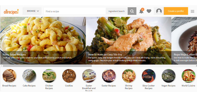 Recipe Websites Market Will Hit Big Revenues In Future | Yummly, CookingLight, EatingWell