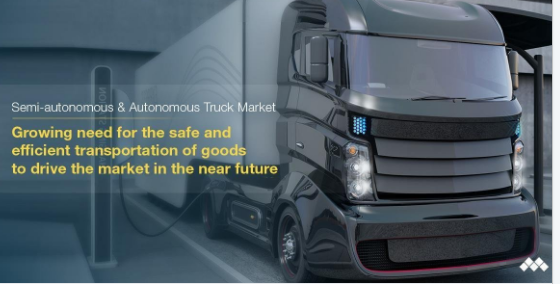 Autonomous Truck Market: An Outlook to the Future Global Opportunities