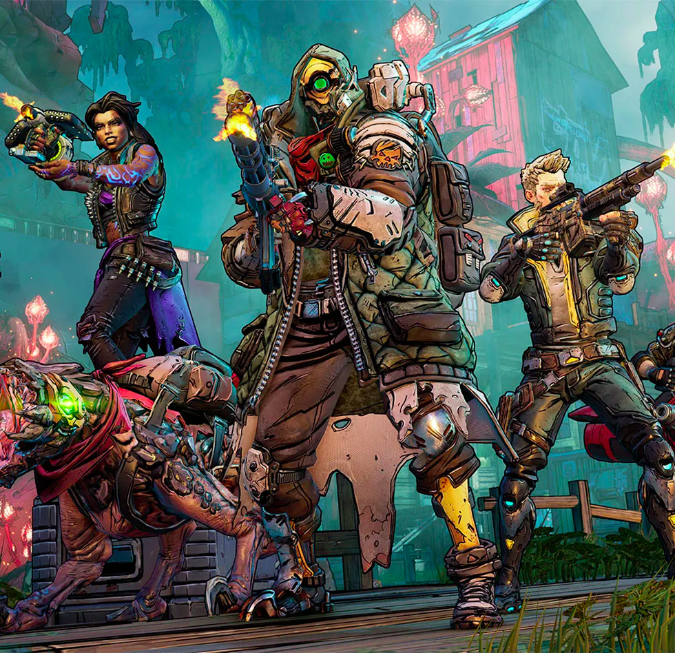 Steam weekly sales ranking: V agency VR suite tops again, Borderlands 3 takes second and third