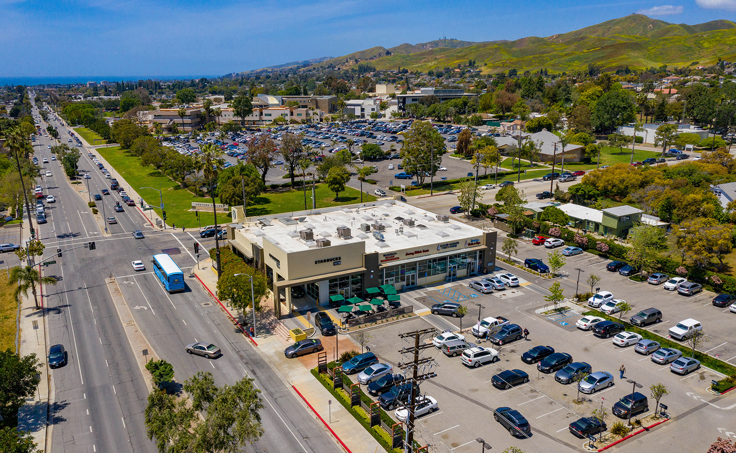 Hanley Investment Group Arranges Sale of Multi-Tenant Starbucks Drive-Thru Retail Building in Ventura for $7.4 Million