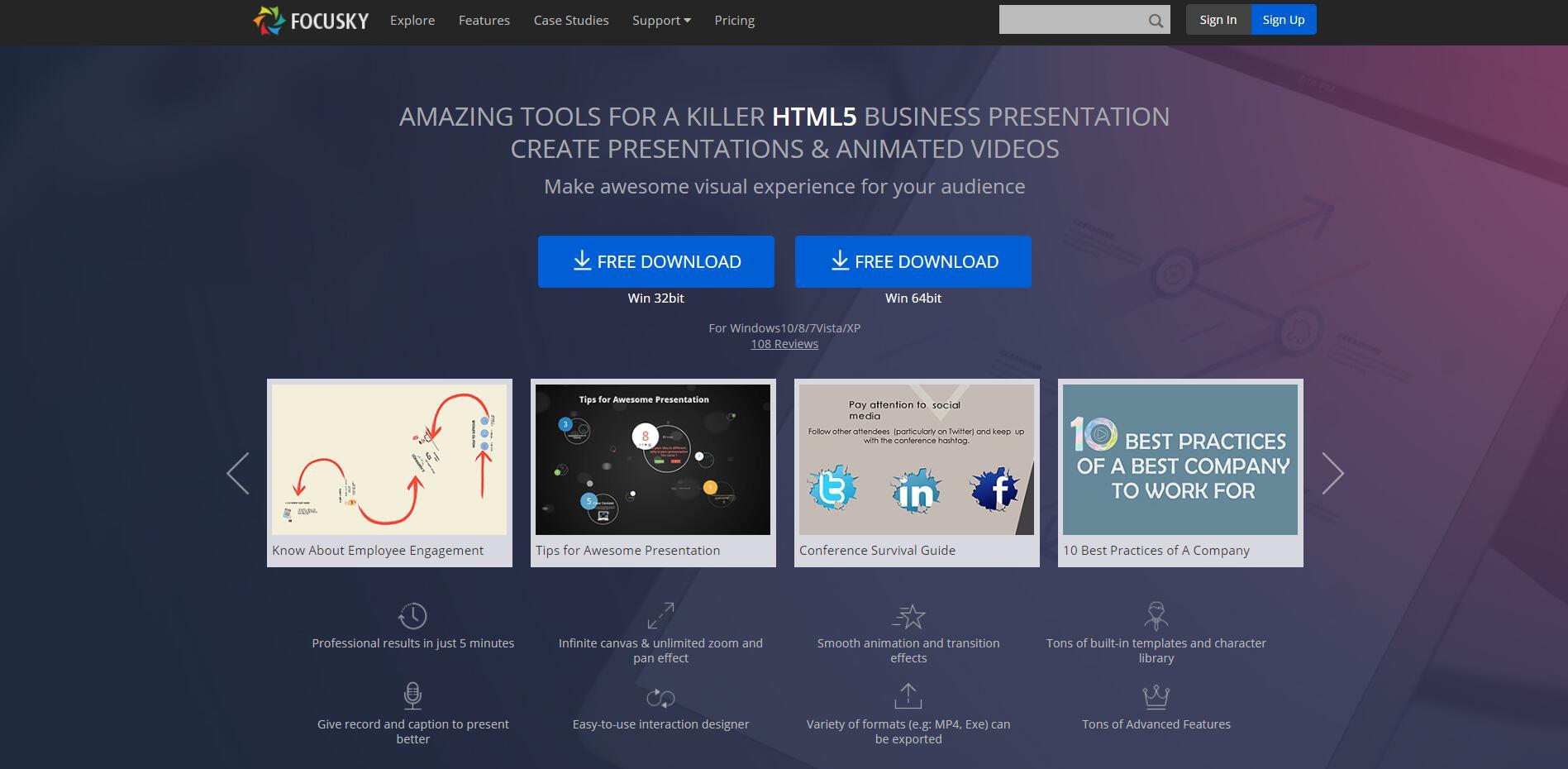 Focusky Is an Ideal Presentation Website for Online Education & Online Study