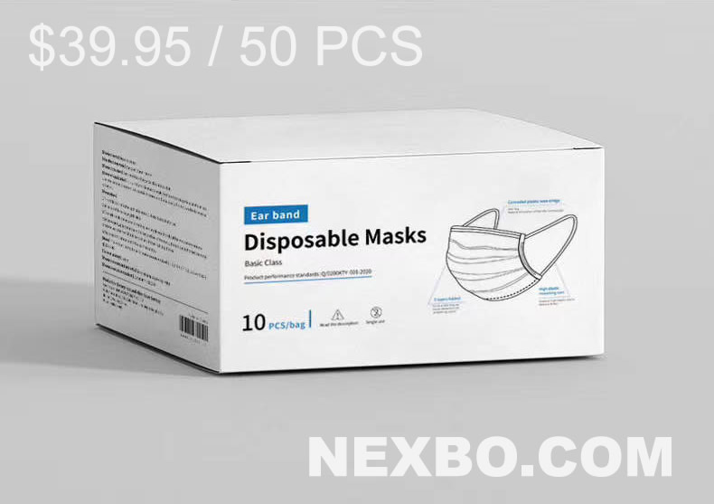 Nexbo.com Distributes Disposable Surgical Masks To Protect People Against COVID-19, Helping Them Stay Safe Amidst The Present Pandemic