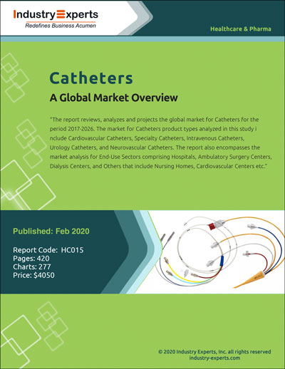 Technological Advancements Combined with Increased Geriatric Population and Government Funding Propel the Demand for Catheters Global Market to Reach $44 Billion by 2026
