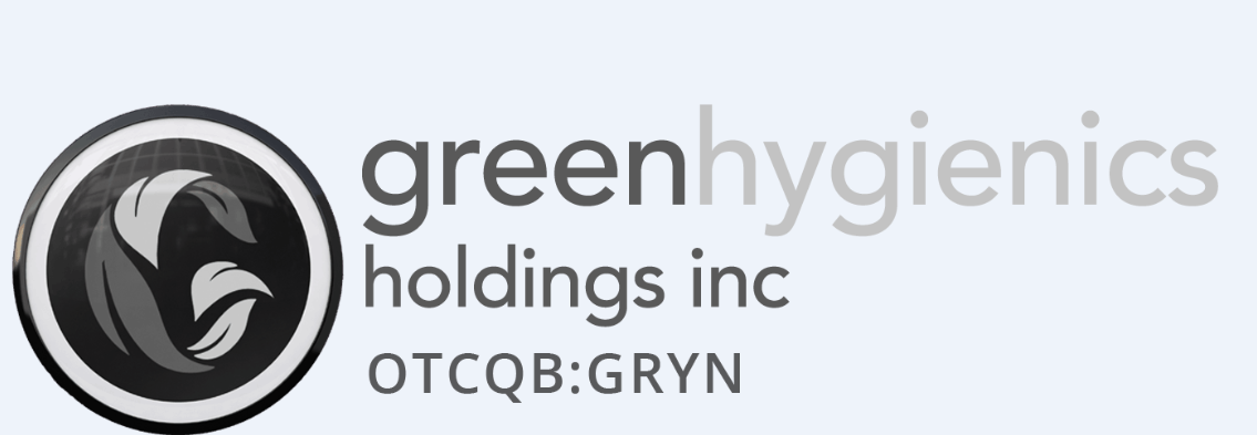 Management makes a company and this one has a seasoned group of industry professionals. GREEN HYGIENICS HOLDINGS INC. Stock Symbol: OTCQB: GRYN