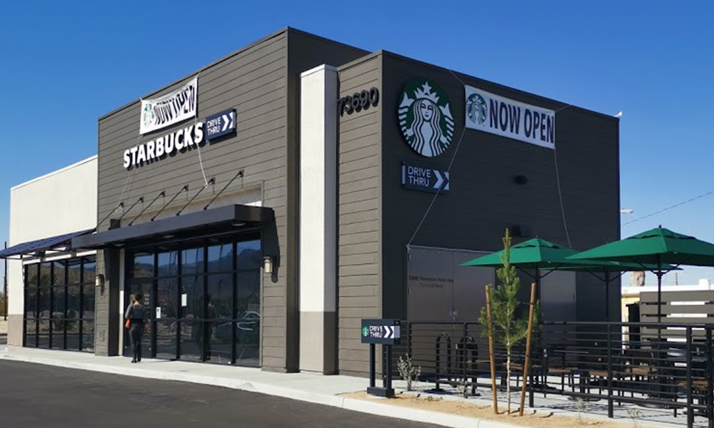 Hanley Investment Group Arranges Sale of Brand-New Starbucks Drive-Thru in Twentynine Palms for $3.1 Million, $1,722 PSF