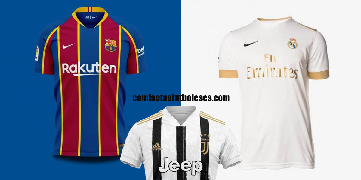 Camisetasfutboleses.com: New 2020/2021 Football Kits - Real Madrid, Juventus, Barcelona & all the top clubs\' shirts & jerseys
