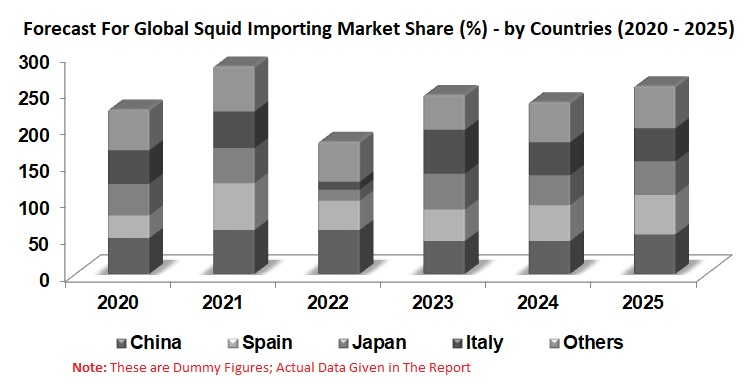 Global Squid Market By Import, Export, Production, Consumption, Products, Value Chain Analysis & Forecast