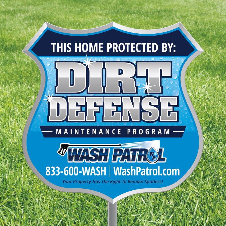 """Wash Patrol Announces Pressure Washing Services, Coins Catchphrase """"Your Property Has the Right to Remain Spotless!"""""""