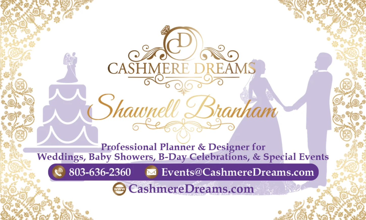 Wedding & Events Planner Cashmere Dreams Welcomes Engaged Couples to Book their Dream Wedding