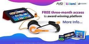 Encore Data Products Announces AVID Products Promotion Offering Free Kidomi Access