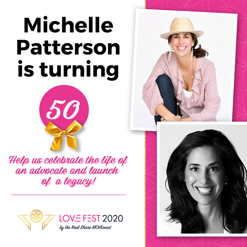 Michelle Patterson's LOVEFEST2020 - The Real Share Movement