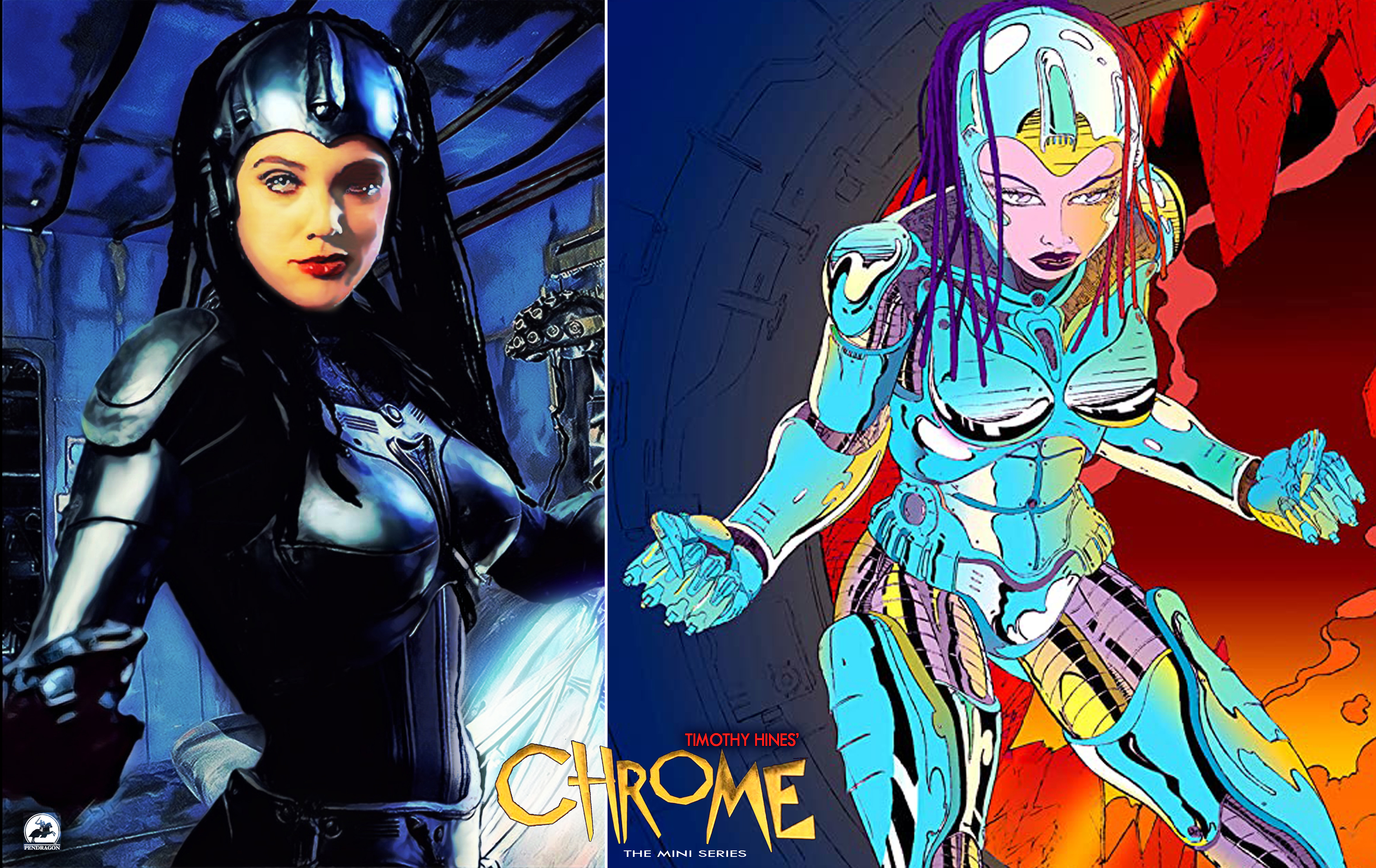 Chrome The Series Long Anticipated Years In The Making Action Fantasy Adventure Begins Streaming May 30