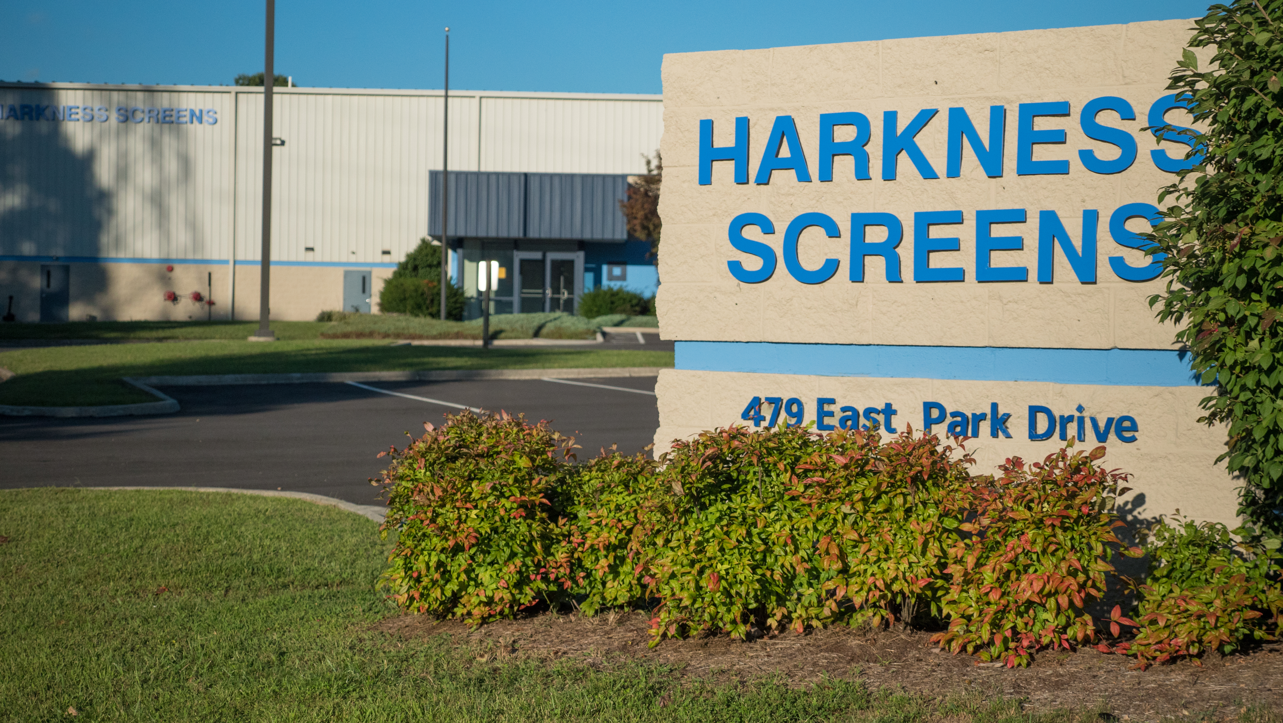 Harkness Screens USA is in Start-Up Mode