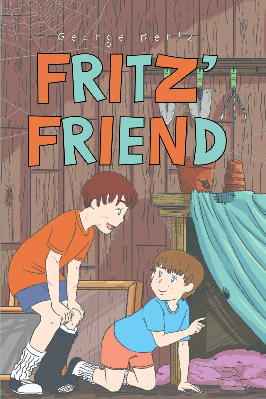 George Kertz Proudly Presents his Kid-Friendly Book titled, Fritz' Friend