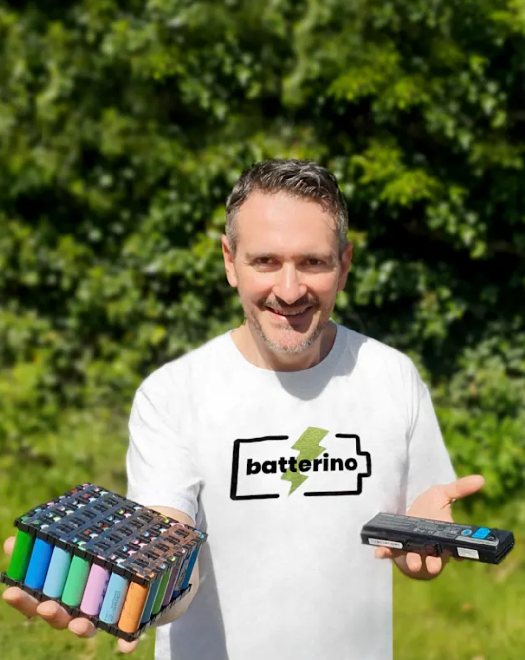 Entrepreneur Plans to Address Surging Demand for Batteries with Reuse