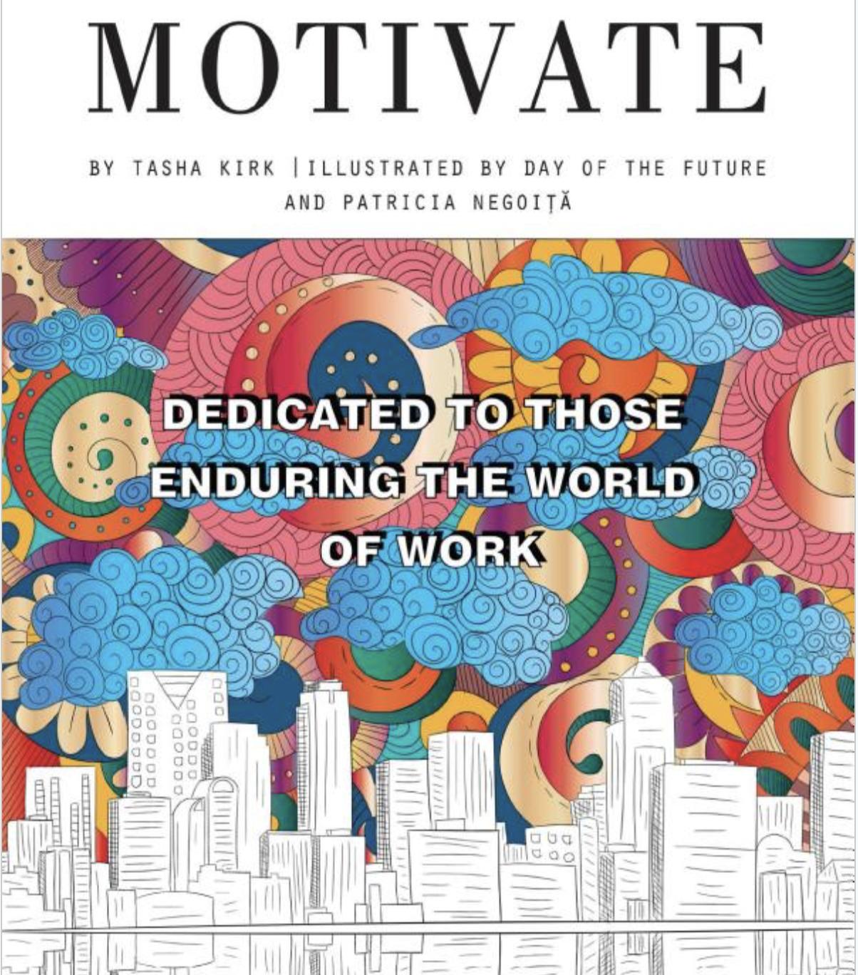 MOTIVATE: Tasha Kirk's Inspiring and Relaxing New Book