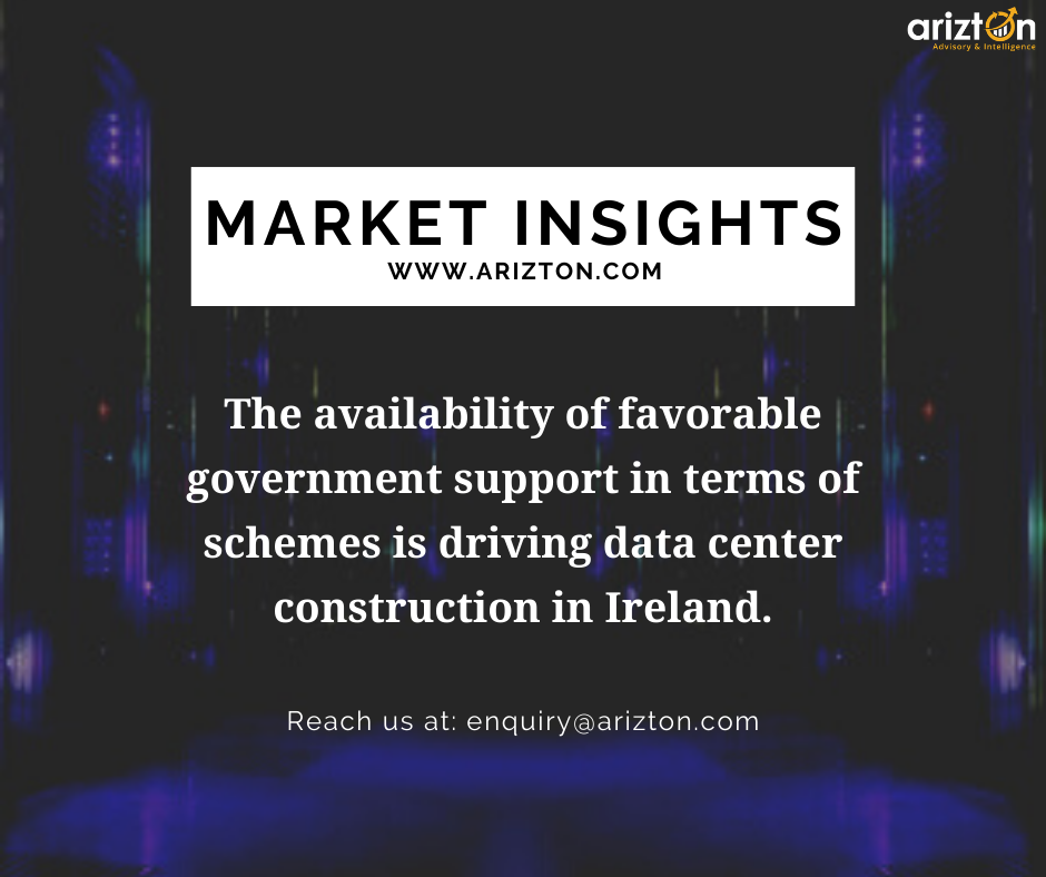 Ireland Data Center Market Size to Reach Revenues of over $3 Billion by 2025 - Arizton