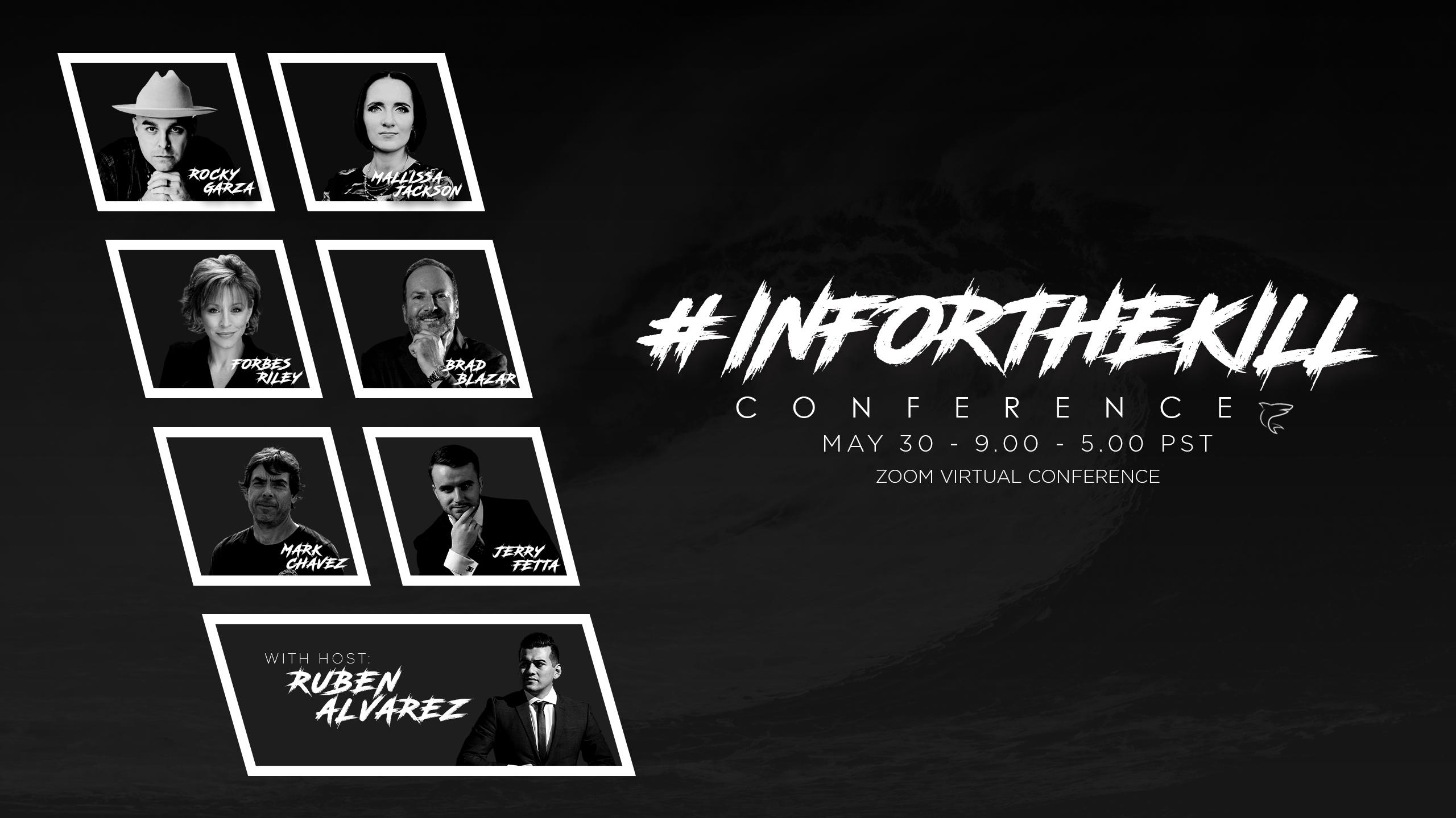 Ruben Alvarez to host the #INFORTHEKILL conference virtually