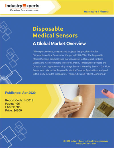 Prevailing Incidences of Cancer and Increasing Contagion Concerns Driving the Demand for Disposable Medical Sensors to Touch $14 Billion by 2026
