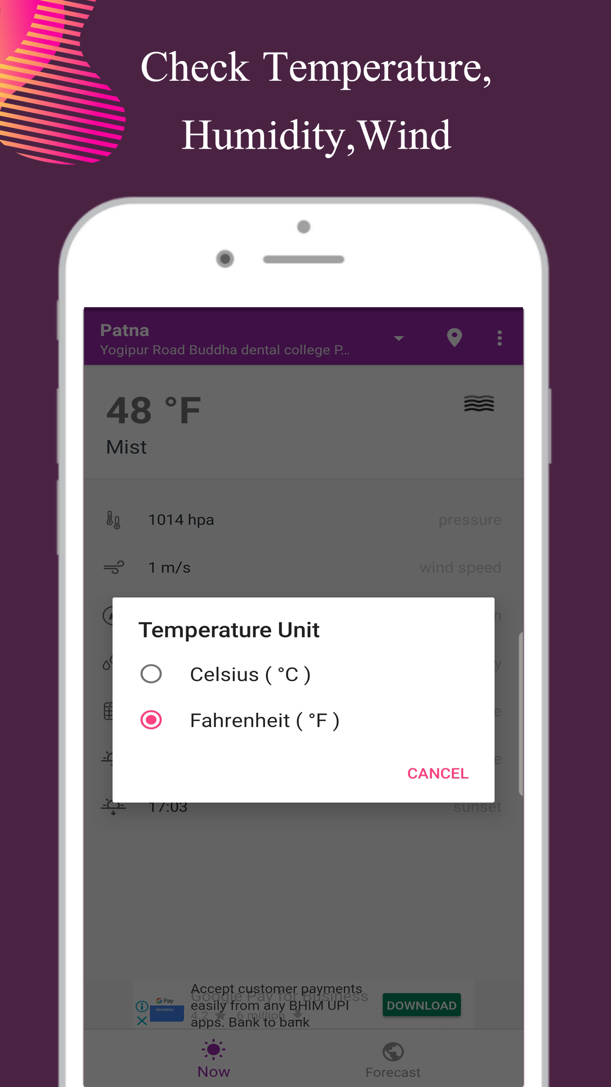 Exam Helper adds new updates to their app - Weather Forecast