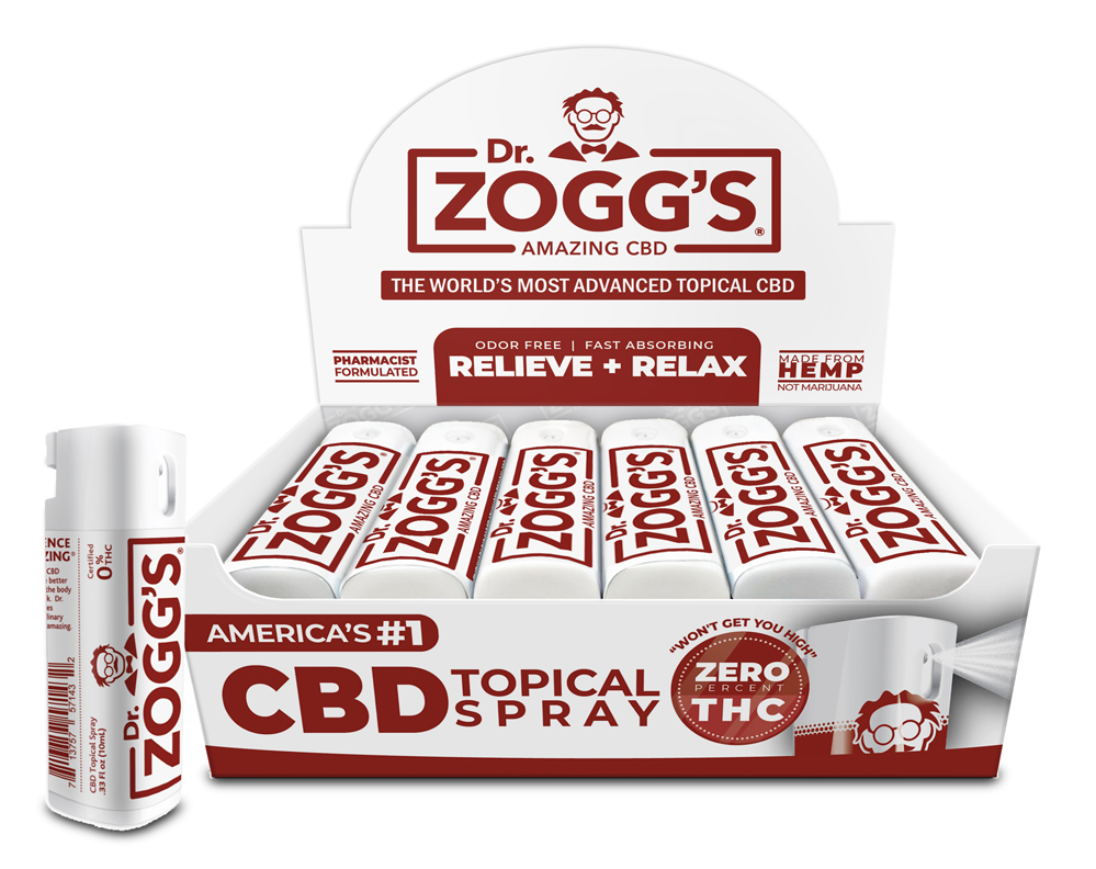 Dr. Zogg's Amazing CBD is now offered Nationwide Through Mr. Checkout's Direct Store Delivery Distributors.