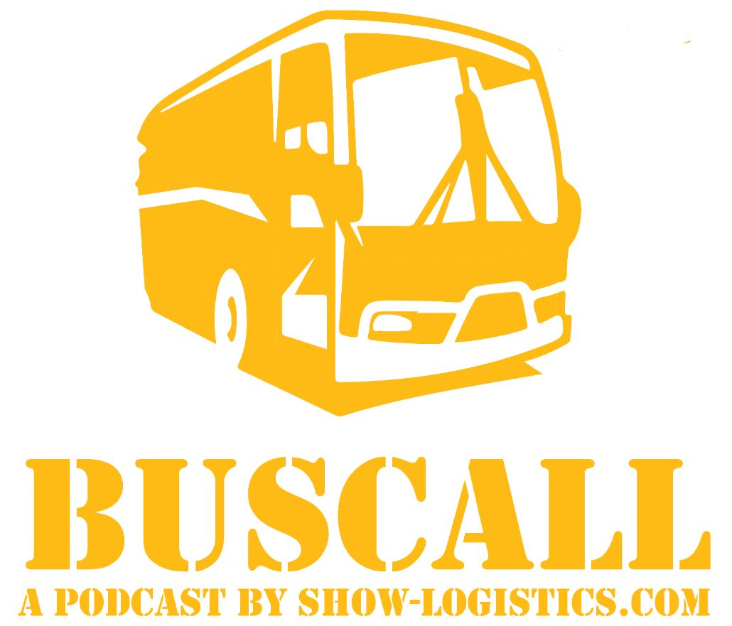 "Show-logistics.com presents the ""Bus Call"" podcast giving an inside view of what goes behind organizing a live music concert"