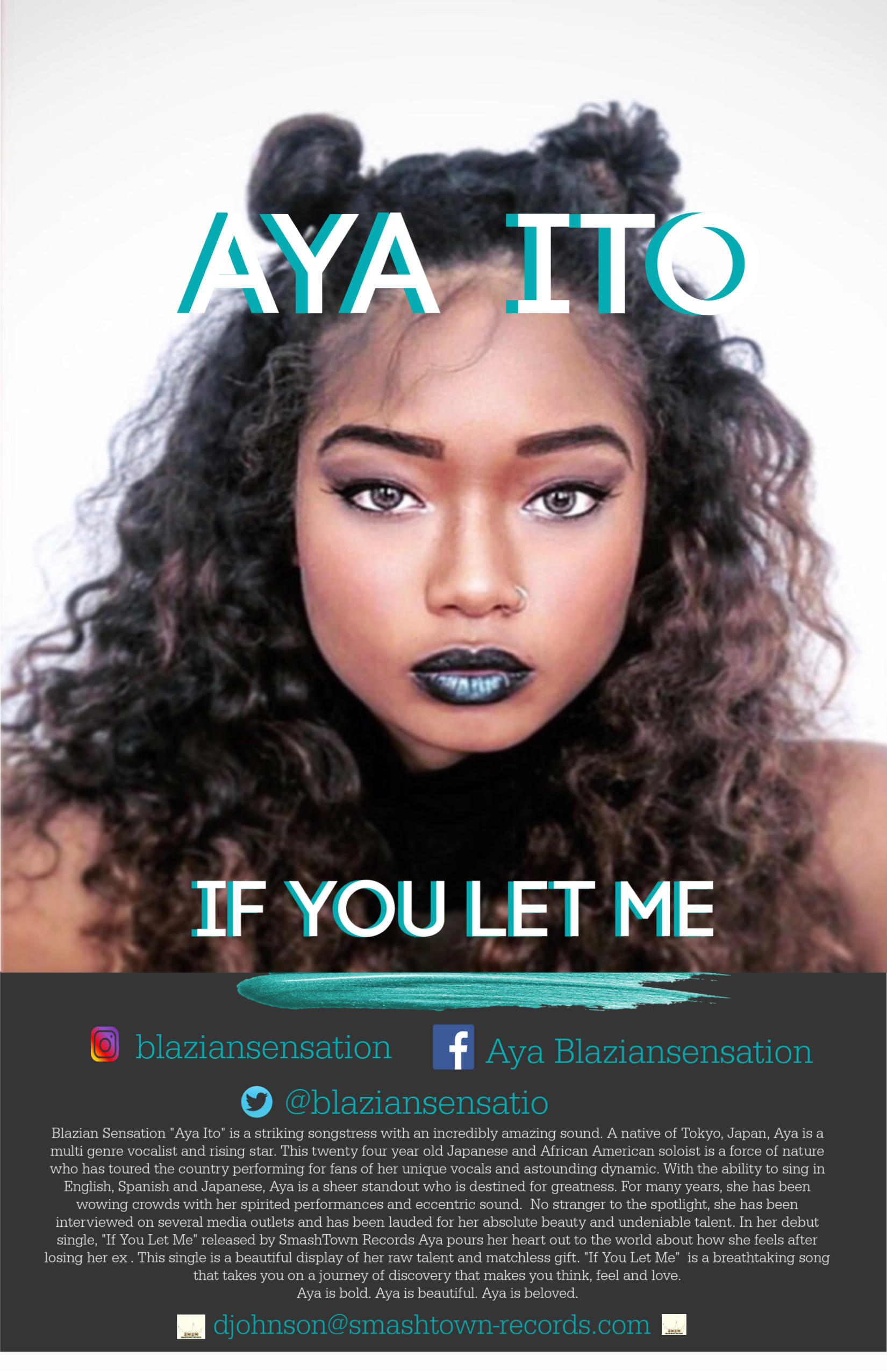"Aya Ito drops her debut single titled ""If You Let Me"""
