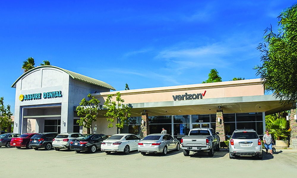 Hanley Investment Group Arranges Sale of Two-Tenant Retail Building Occupied by Assure Dental and Verizon in Ontario, Calif. for $4 Million