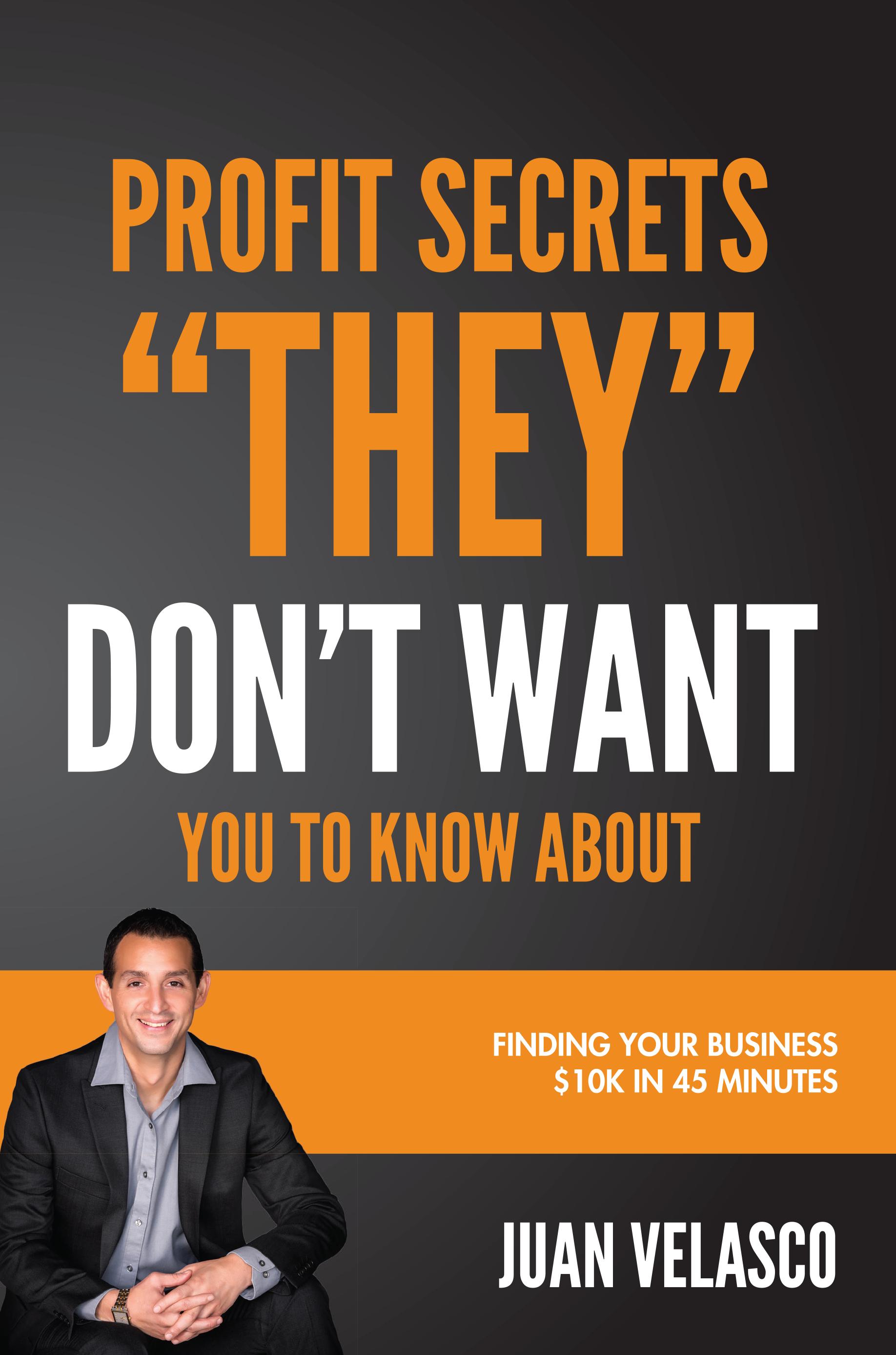 Juan Velasco offers sure-fire tips for skyrocketing revenue in his new book