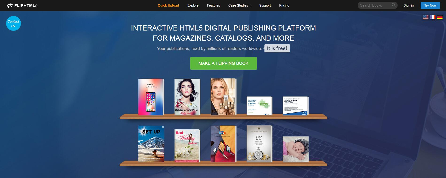 FlipHTML5 Releases a Digital Publishing Blog for Content Marketing