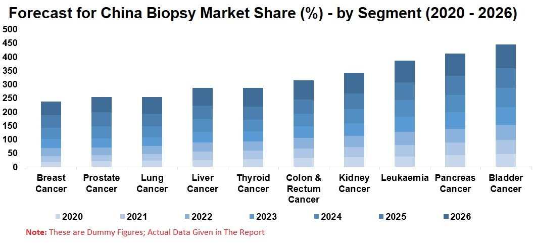China Biopsy Market, by Cancer Segment, Volume of Biopsy and Patient Diagnosed Numbers, Company Analysis