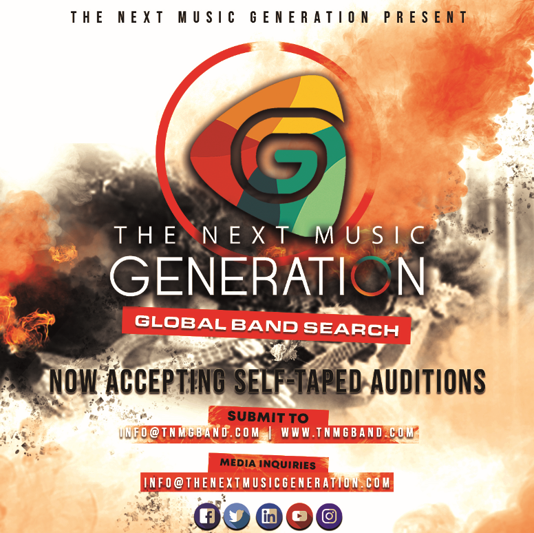 "The Next Music Generation On A Hunt For The Greatest Band In The World With The ""Global Band Search"""