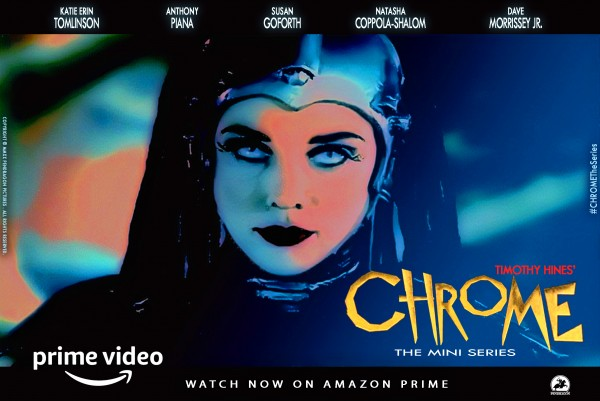 On the Weekend Wonder Woman was set to open Superhero Adventure Chrome The Series is Going Strong on Amazon Prime