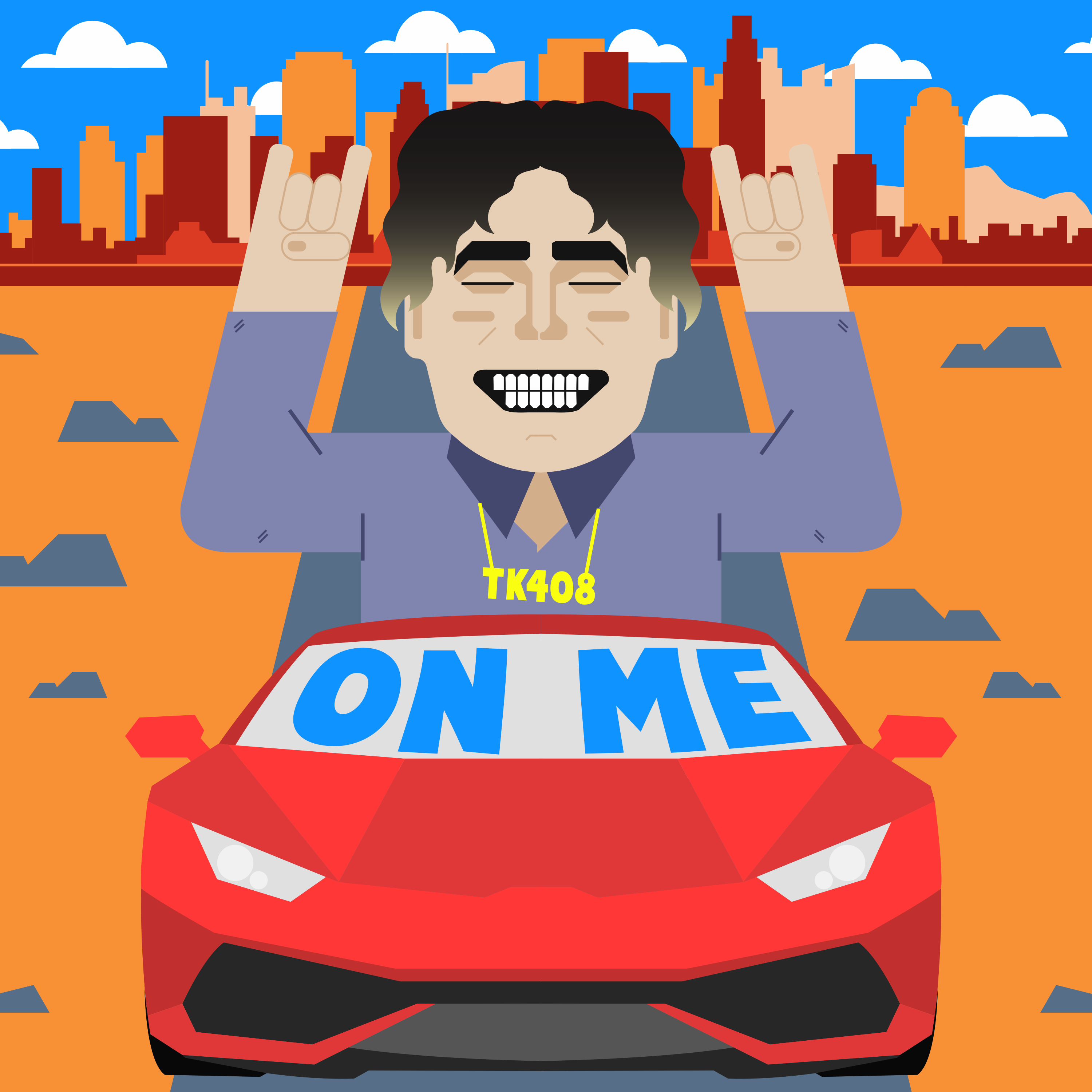 American Rapper, Tank Kid, Releases a New Upbeat Single Titled 'On Me'